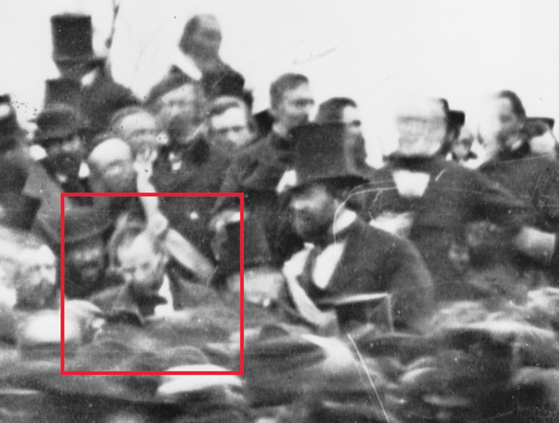 Rare Photo Of Lincoln At Gettysburg Pieces Of History