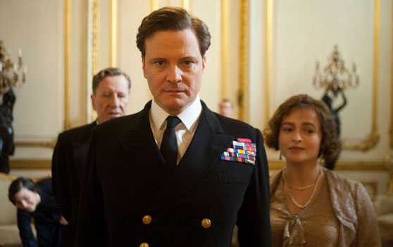 Colin Firth as George VI in <em>The King's Speech.</em> (Photo from http://www.kingsspeech.com)