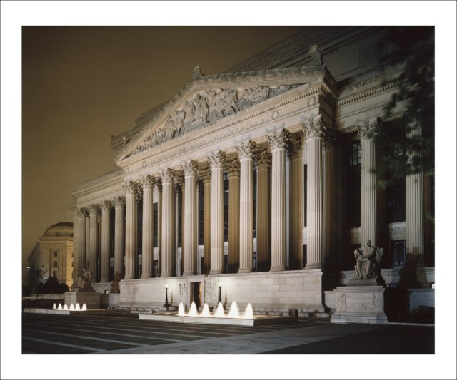 The National Archives Building. (Photo by Carol Highsmith)