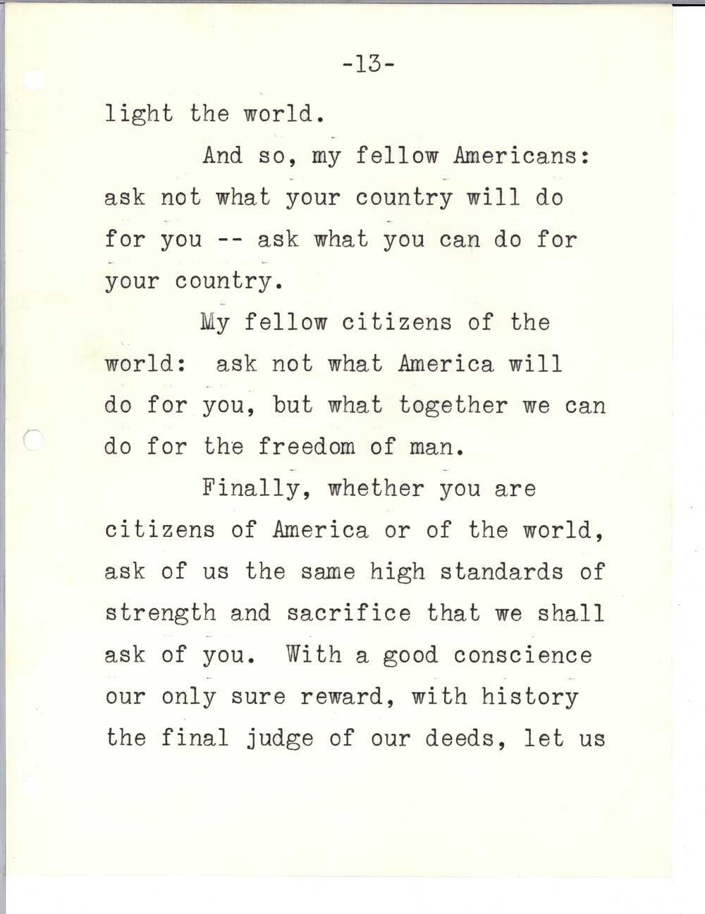 kennedy's inaugural speech 4 things that made jfk's inaugural address so effective rhetorical devices used in the speech.
