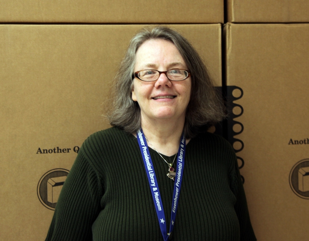 Valoise Armstrong is an archivist at the Dwight D. Eisenhower Presidential Library and Museum.