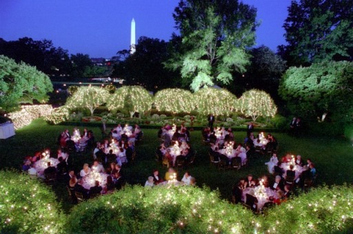 11_RR_State Dinner_Turkey in Rose Garden 1988