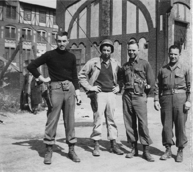 George Stout, Sgt Travese, Walker Hancock, Lt. Kovalyak