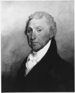 James Monroe. Copy of painting by Gilbert Stuart. (National Archives Identifier 532933)