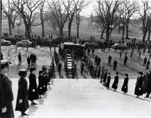 Transfer of Charters of Freedom to the National Archives, 12/13/1952. (National Archives Identifier 5928179)