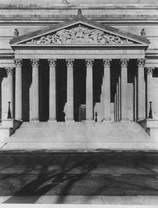Constitution Avenue Entrance and Pediment, Jan. 12, 1936, 64-NA-39, Records of the National Archives