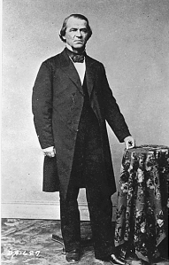Vice President Andrew Johnson, undated. (National Archives Identifier 530496)
