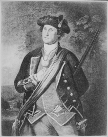 Washington, George, the Virginia Colonel (3/4 length), 1772. (National Archives Identifier 532861)