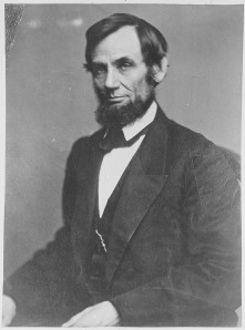 Abraham Lincoln, ca. 1860 - ca. 1865. (National Archives Identifier 528325)]