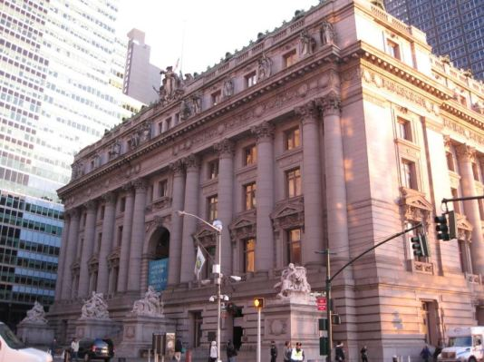 Alexander Hamilton Custom House Building, New York City, 2014. (Photo Courtesy of the National Archives History Office)