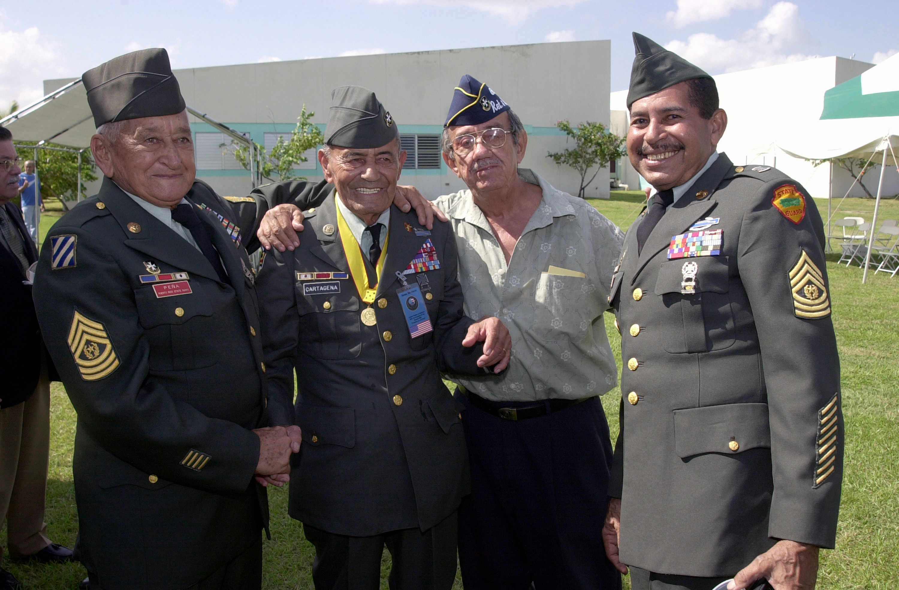 Hispanics in the military
