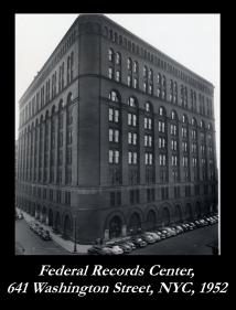 Federal Office Building, (New York Federal Records Center), 1952 (Records of the National Archives)