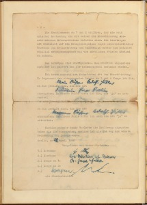 Marriage certificate of Adolf Hitler and Eva Braun. (National Archives Identifier 6883511)