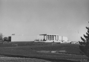 Photograph of Harry S. Truman Library, ca. 1960 (National Archives Identifier 12170023)