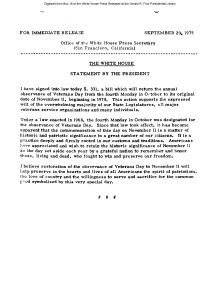 gerald r ford thesis statement 2006 public papers 2224 - statement on the death of former president gerald r ford r.