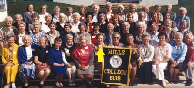 Mills College Class of 38, 1988