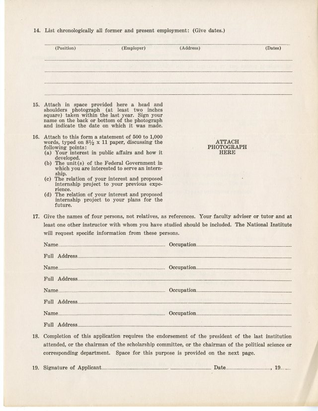 NIPA Application Brochure (National Archives Identifier 654329)