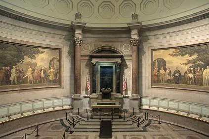 2001-2003 Faulkner Mural Restoration. (Records of the National Archives)