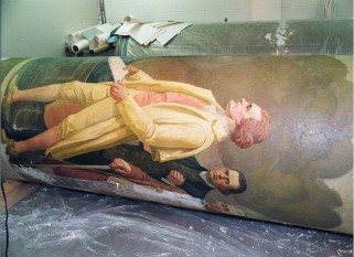 2001-2003 Faulkner Mural Restoration. (Records of the National Archives)
