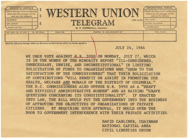 Telegram in Opposition